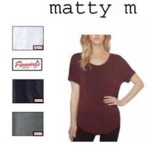 Matty M Womens Blouse - Wine